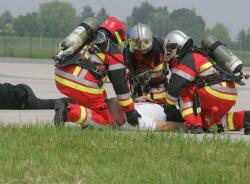 Intervention de pompiers